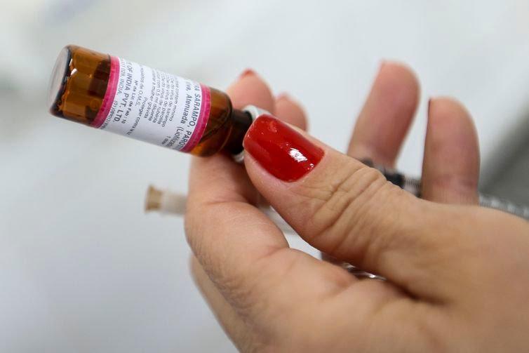 Dia D de mobilização da Campanha Nacional de Vacinação contra a Poliomielite e Sarampo.
