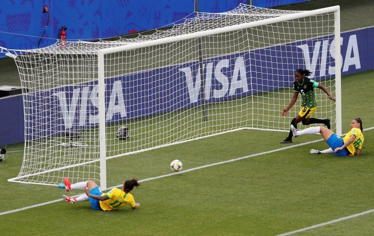 Copa do Mundo Feminina 2019: Segundo gol de Cristiane do Brasil contra a Jamaica