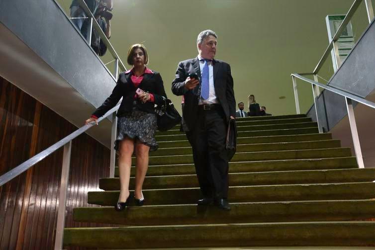 Brasília - Anthony Garotinho, acompanhado de sua esposa, Rosinha, esteve na Câmara esta tarde. (Fabio Rodrigues Pozzebom/Agência Brasil)